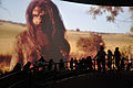Hacking Space Participants Watch Panorama on Human Evolution - Science Exploration Hall - Science City - Kolkata 2016-03-29 2997.JPG
