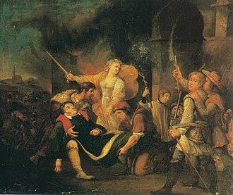 Rafał Hadziewicz - The Death of Henryk Ignacy Kamieński
