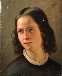 Hagen-Schwarz, Julie. Autoportree. 1849.jpg