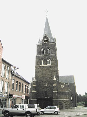 Halen - Image: Halen Sint Petruskerk