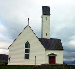 Hallgrímur Pétursson - The Hallgrímskirkja in Saurbær.