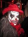 Hallween Tumble 2012 Scary Clown Face.JPG