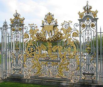 Jean Tijou - Image: Hampton Court Avri 2009 59