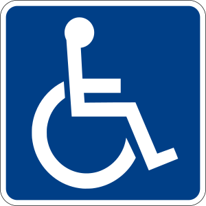 300px Handicapped Accessible sign.svg When equality meets inconvenience