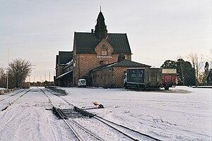 Haparanda Line - Haparanda railway station.