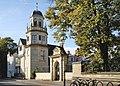 Harris Manchester College, Oxford – Siew-Sngiem Clock Tower and Sukum Navapan Gate.jpg