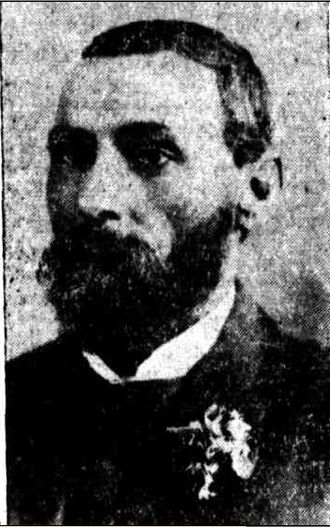 Shire of Bundanba - Harry Ferrett, chairman of Bundanba Shire Council, 1912