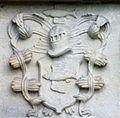 Haseldorf Wappen von Brockdorff 01.jpg