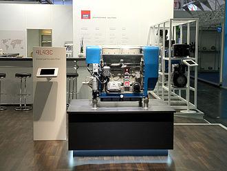 Hatz - Hatz Diesel 4L43 engine with DPF.