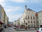 Ried im Innkreis - Hauptplatz, Stelzhamerplatz - A