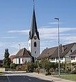 Hauptstrasse mit Kirche in Birwinken.jpg
