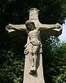 Havířov, Bludovice, kříž na hřbitově u kostela sv. Markéty (2).JPG