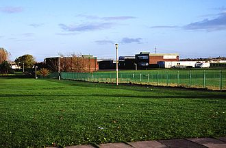 Jarrow School - Hedworthfield Comprehensive School circa 2002.