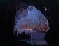 Heinrich Jakob Fried - Die Blaue Grotte auf Capri.jpg