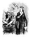 Helena and Clown, Illustrator John Gilbert Engraver Dalziel Brothers 1867.jpg