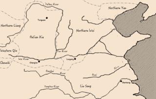 Northern Yan State from Sixteen Kingdoms era of China