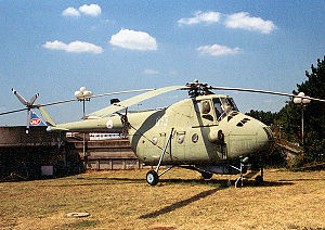Mil Mi-4 - A Mil Mi-4 at Belgrade Aviation Museum