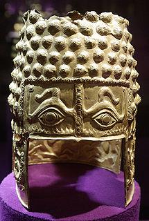 4th century BC Geto-Dacian helmet