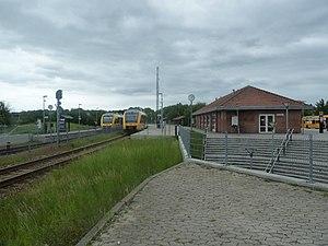 Helsinge station - Image: Helsinge Station