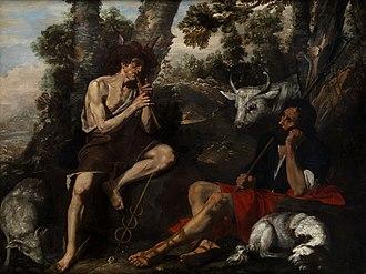 Hendrick de Somer - Mercury and Argus
