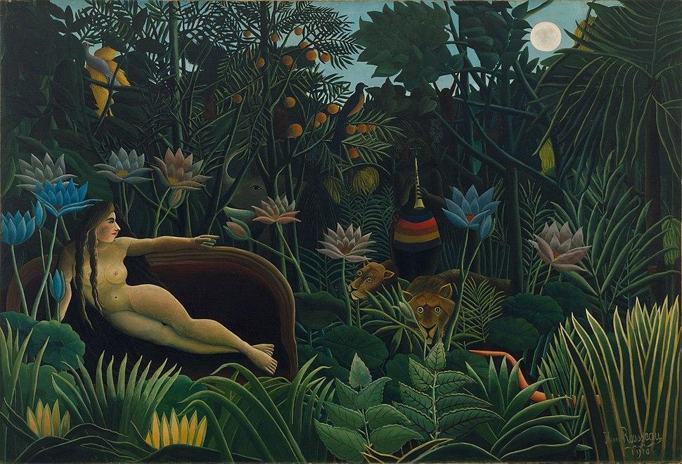 Henri Rousseau - Le Rêve - Google Art Project