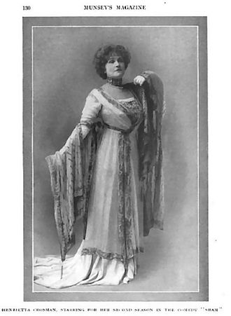 Henrietta Crosman - Munsey's Magazine, 1910