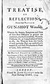 Henry Francis LeDran - A treatise or reflections of gun-shot wounds title page.jpg