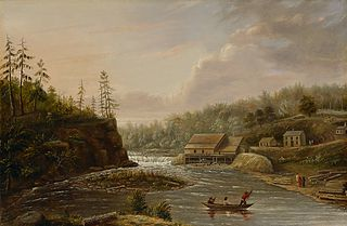 Cheever's Mill on the St. Croix River