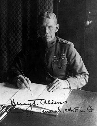 Henry Tureman Allen - Image: Henry Tureman Allen cph.3c 31940
