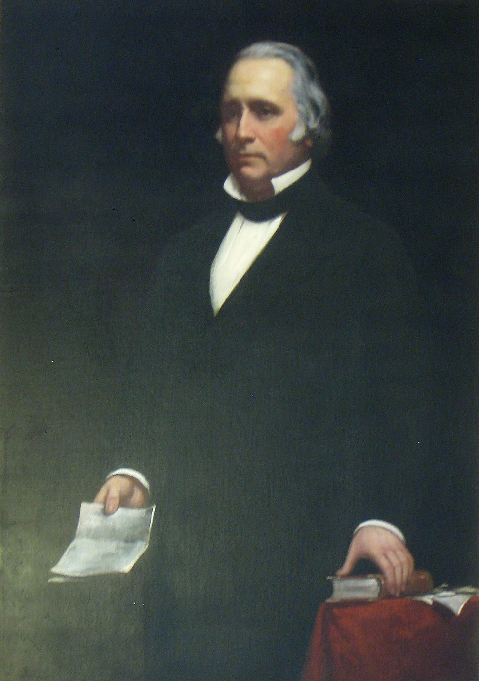 Henry Wilson (United States Vice President) Onthank portrait