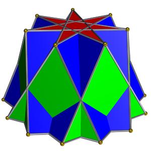 Heptagrammic cupola - Image: Heptagrammic cupola