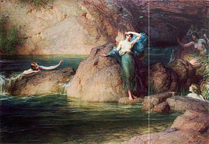 Alcyone - Image: Herbert James Draper Halcyone (1915)