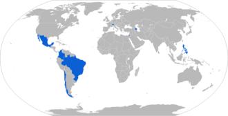 Elbit Hermes 900 - Map with Elbit Hermes 900 operators in blue