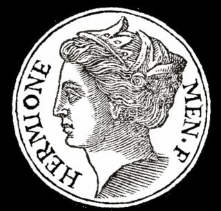 Hermione (mythology) figure from Greek mythology