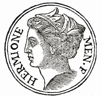 Hermione (mythology) - Hermione was the daughter of Menelaus and Helen in Greek mythology