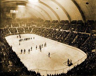 Hersheypark Arena - Hershey Bears opening night, 1937