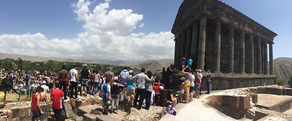 Hetan priest officiating at Garni Temple, Armenia 30