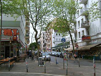 """Sternschanze - Susannenstraße, a typical street """"in der Schanze"""""""