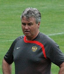 Hiddink Managing The Russian National Team