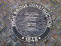 High Bridge re-opening - plaque High Bridge Construction.jpg