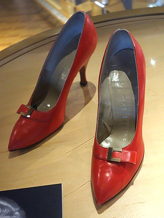Bata Shoe Museum - High heels worn by Marilyn Monroe. The institution's collection of celebrity footwear is a popular attraction at the museum.