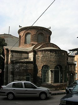 The Mosque viewed from East with the apse in foreground as in 2007 and once.