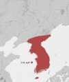 History of Korea-Goryeo Period-1389 CE-ar.png