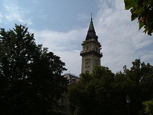 Hódmezővásárhely - The town hall