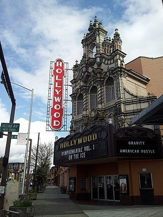 John Virginius Bennes - Hollywood Theatre in the Hollywood District of Portland, Oregon.