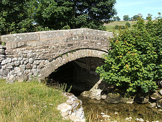 Ravensworth - Holme Bridge, once the main bridge into the village, but since superseded