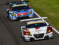 Honda CR-Z GT and Toyota Prius GT 2012 Super GT Sugo.jpg