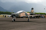 Honduras Air Force - Embraer T-27 Tucano (FAH-258).jpg