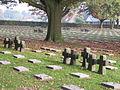 Hooglede Duitse militaire begraafplaats Kruisgroepen.JPG