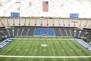 Interior of the Hoosier (RCA) Dome